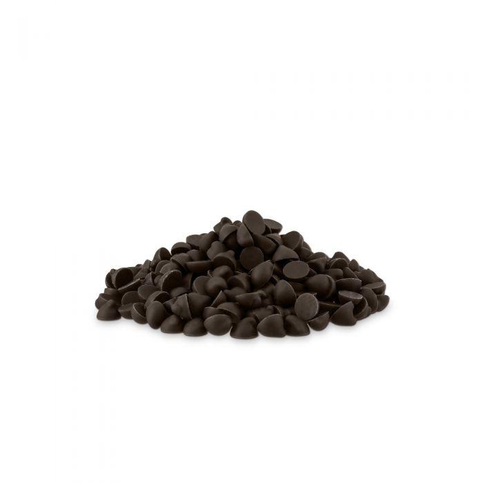 pepitas de chocolate negro por valrhona