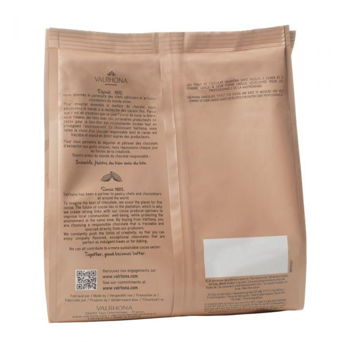 habas ivoire 35% por valrhona
