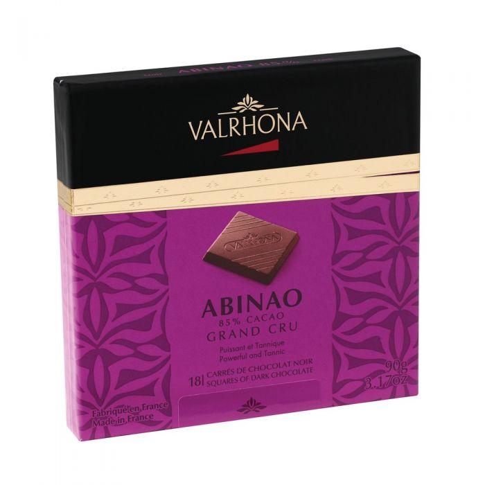 carrés abinao 85% - 90g por valrhona