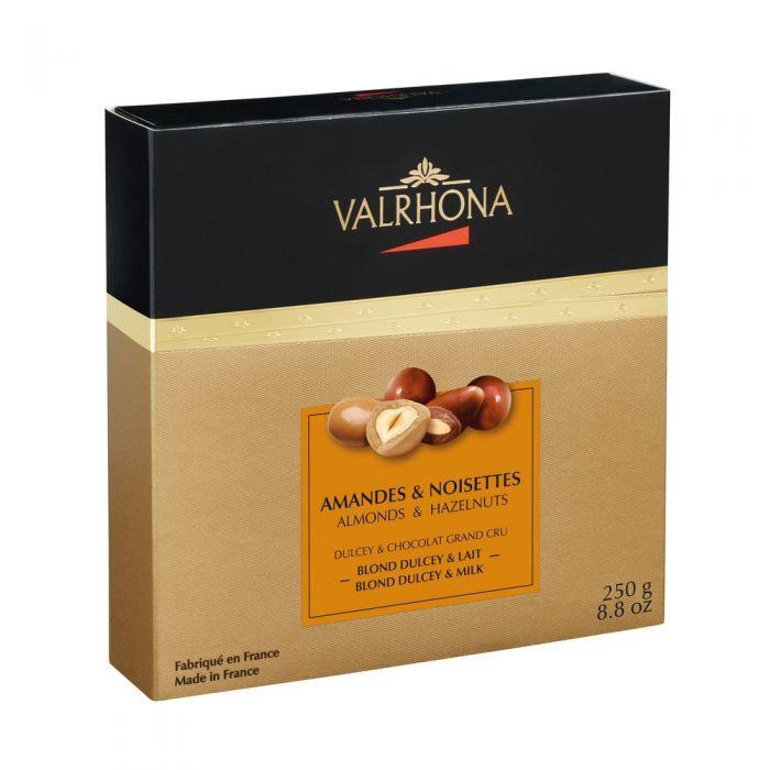 fantasías chocolate con leche y blond dulcey por valrhona