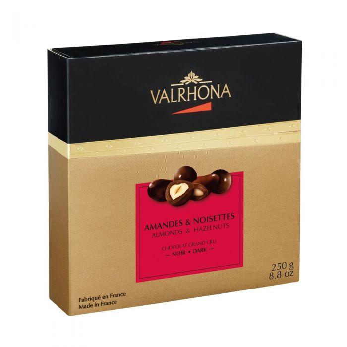 fantasías chocolate negro por valrhona