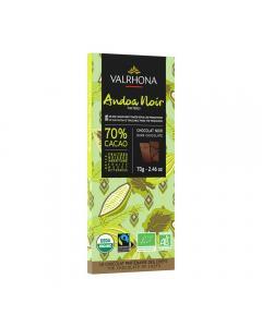 Tableta Andoa noire 70% - 70 g