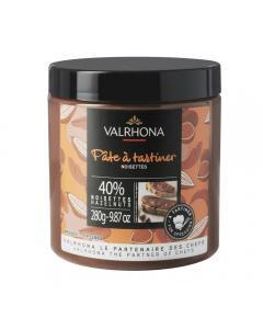 crema de avellanas 40% por valrhona