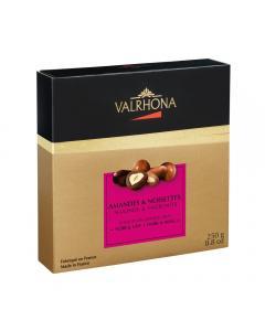 fantasías chocolate negro y con leche por valrhona
