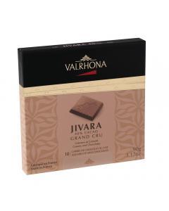 carrés jivara 40% - 90g por valrhona