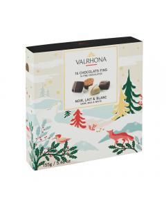 bombones de chocolate - 155g por valrhona