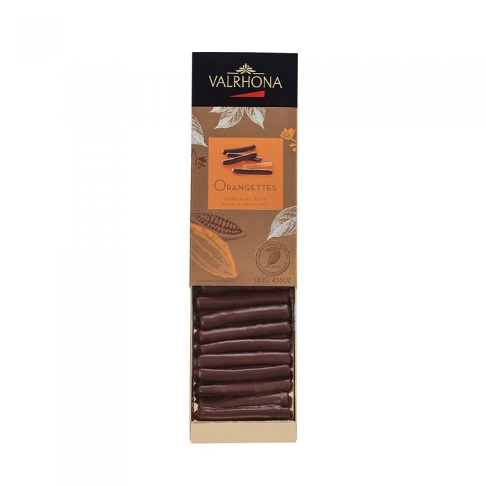 caja orangettes - 130g por valrhona
