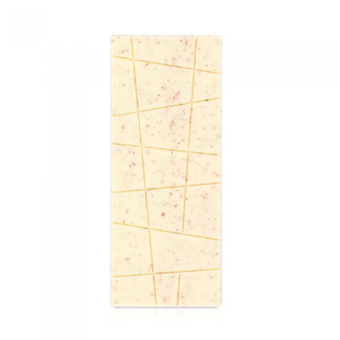 tableta ivoire 35% - pepitas de frambuesa por valrhona